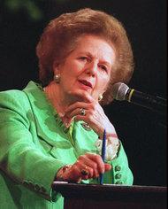 Margaret Thatcher dies