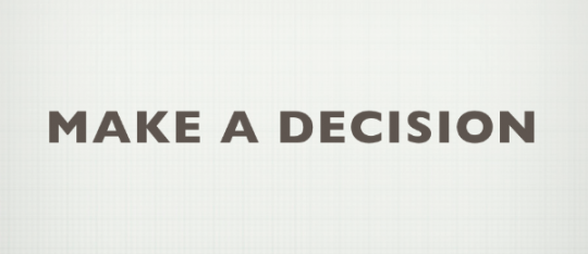 making a life changing decision One choice today can change all of your tomorrows  is that impulsive  decisions can lead to serious consequences – some of them life lasting   impulsive decision making is normal human behavior and, obviously, not every  impulsive.