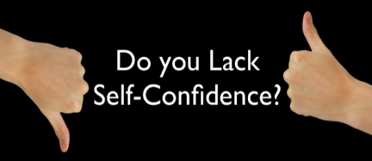 Do you Lack Self-Confidence? ~ Michel Gerard Online