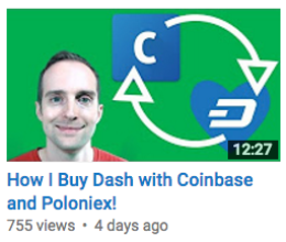 How I Buy Dash with Coinbase and Poloniex!