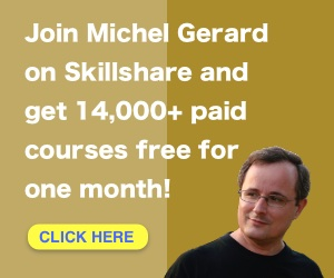 Join Michel Gerard on SkillShare