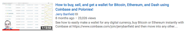 How to buy, sell, and get a wallet for Bitcoin, Ethereum, and Dash using Coinbase and Poloniex!