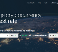 Fast Cryptocurrency Exchanges at the Best Rates
