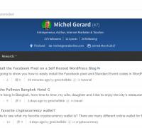 Steemit Michel Gerard