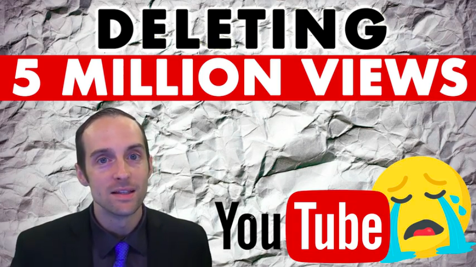 Jerry Banfield is Deleting 5 Million YouTube Views!