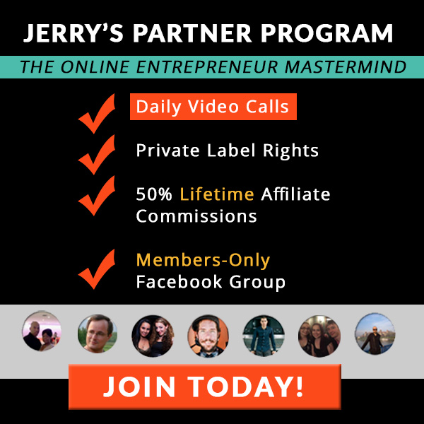 Jerry Banfield Partners: Full Time Online Entrepreneurs
