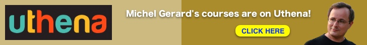 Michel Gerard's courses are on Uthena!