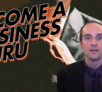How do you become a business guru?